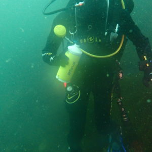 Low-power underwater acoustic recorder